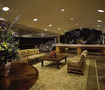 Front Lobby at the Wyndham Buttes Resort in Phoenix