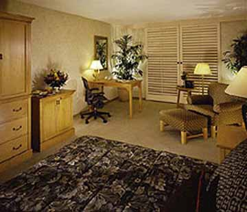 Guestroom at the Wyndham Buttes Resort